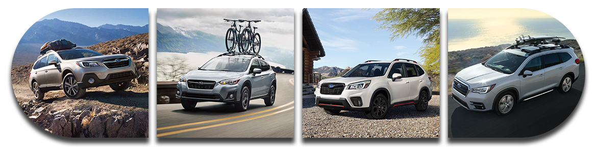 Subaru SUV comparison Outback Forester Crosstrek Ascent West Palm Beach, FL